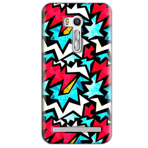 Asus Zenfone Go ZB551KL Mobile Covers Cases Colored Design Pattern - Lowest Price - Paybydaddy.com