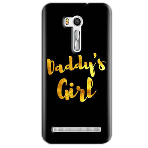 Asus Zenfone Go ZB551KL Mobile Covers Cases Daddys girl - Lowest Price - Paybydaddy.com