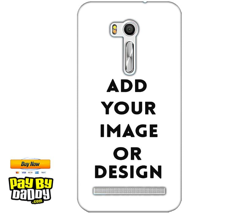 Pic on Cover / Photo Back Cover / Customized Mobile Covers For  Asus Zenfone Go ZB551KL