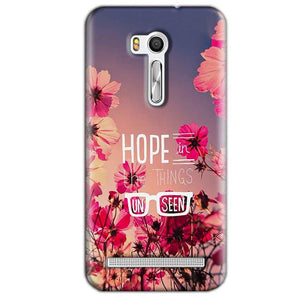 Asus Zenfone Go ZB551KL Mobile Covers Cases Hope in the Things Unseen- Lowest Price - Paybydaddy.com