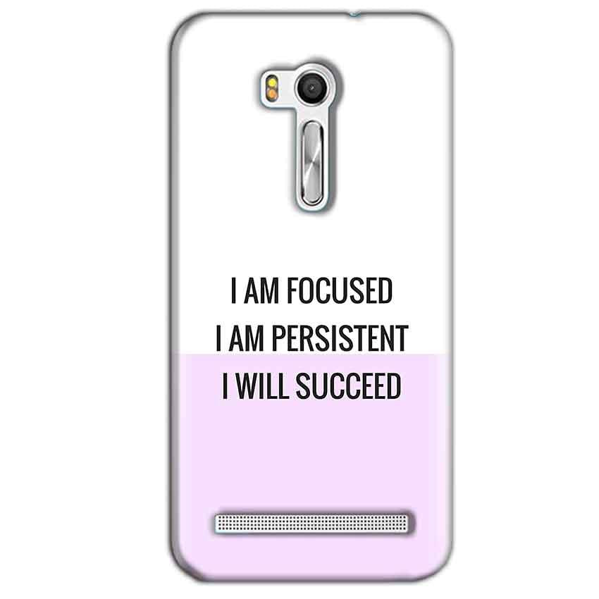 Asus Zenfone Go ZB551KL Mobile Covers Cases I am Focused - Lowest Price - Paybydaddy.com