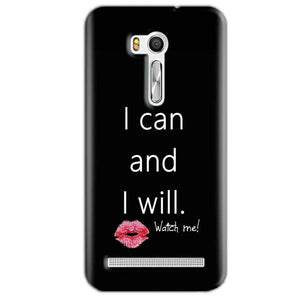 Asus Zenfone Go ZB551KL Mobile Covers Cases i can and i will Lips - Lowest Price - Paybydaddy.com