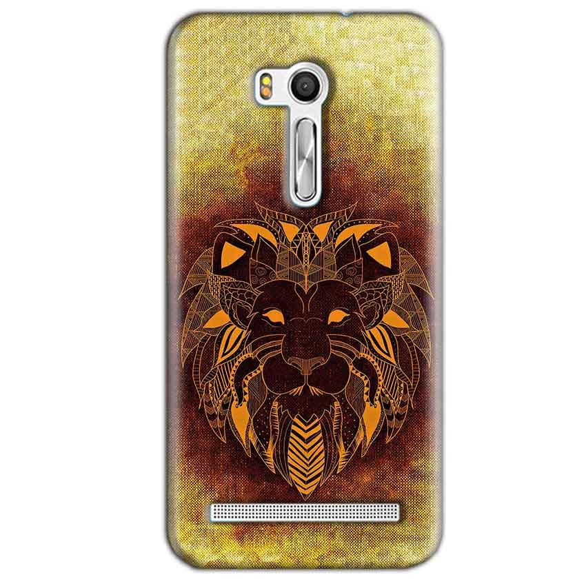 Asus Zenfone Go ZB551KL Mobile Covers Cases Lion face art - Lowest Price - Paybydaddy.com