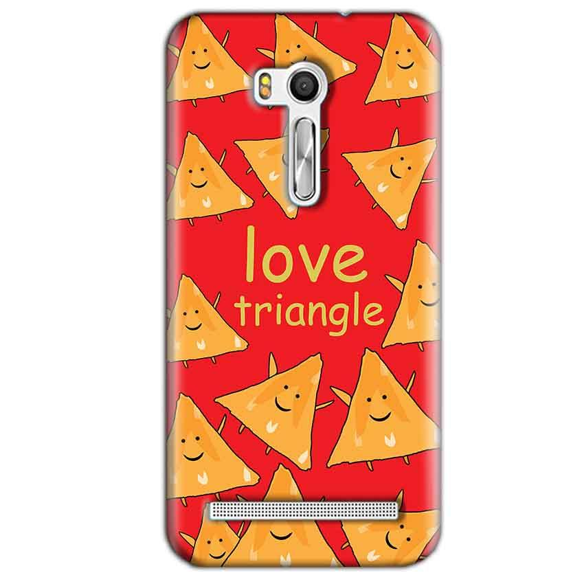 Asus Zenfone Go ZB551KL Mobile Covers Cases Love Triangle - Lowest Price - Paybydaddy.com