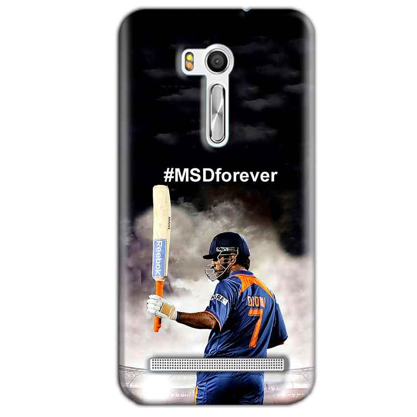 Asus Zenfone Go ZB551KL Mobile Covers Cases MS dhoni Forever - Lowest Price - Paybydaddy.com