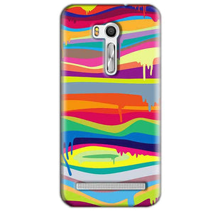 Asus Zenfone Go ZB551KL Mobile Covers Cases Melted colours - Lowest Price - Paybydaddy.com