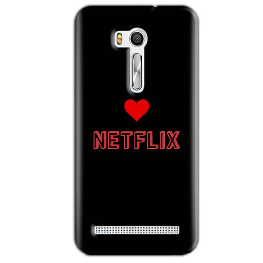 Asus Zenfone Go ZB551KL Mobile Covers Cases NETFLIX WITH HEART - Lowest Price - Paybydaddy.com