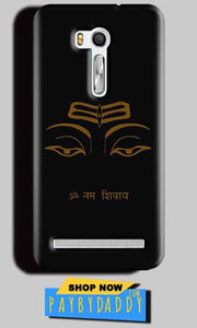 Asus Zenfone Go ZB551KL Mobile Covers Cases Om Namaha Gold Black - Lowest Price - Paybydaddy.com