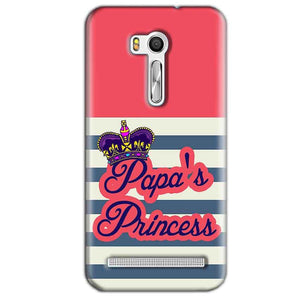 Asus Zenfone Go ZB551KL Mobile Covers Cases Papas Princess - Lowest Price - Paybydaddy.com