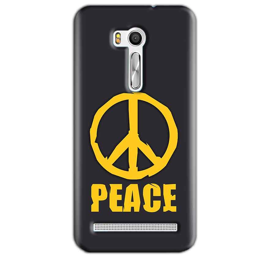 Asus Zenfone Go ZB551KL Mobile Covers Cases Peace Blue Yellow - Lowest Price - Paybydaddy.com