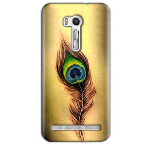 Asus Zenfone Go ZB551KL Mobile Covers Cases Peacock coloured art - Lowest Price - Paybydaddy.com
