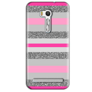 Asus Zenfone Go ZB551KL Mobile Covers Cases Pink colour pattern - Lowest Price - Paybydaddy.com
