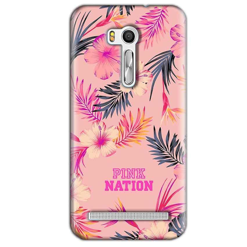 Asus Zenfone Go ZB551KL Mobile Covers Cases Pink nation - Lowest Price - Paybydaddy.com