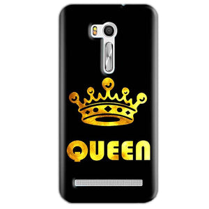 Asus Zenfone Go ZB551KL Mobile Covers Cases Queen With Crown in gold - Lowest Price - Paybydaddy.com