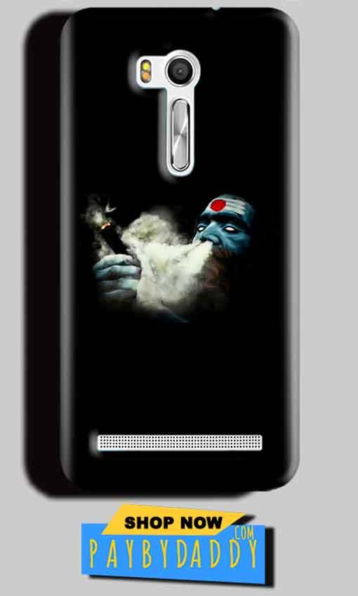 Asus Zenfone Go ZB551KL Mobile Covers Cases Shiva Aghori Smoking - Lowest Price - Paybydaddy.com
