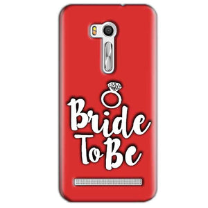 Asus Zenfone Go ZB551KL Mobile Covers Cases bride to be with ring - Lowest Price - Paybydaddy.com