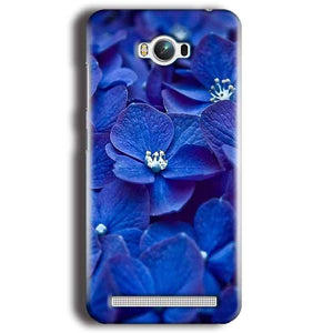 Asus Zenfone Max Mobile Covers Cases Blue flower - Lowest Price - Paybydaddy.com
