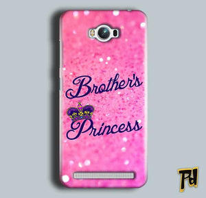 Asus Zenfone Max Mobile Covers Cases Brothers princess - Lowest Price - Paybydaddy.com