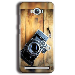 Asus Zenfone Max Mobile Covers Cases Camera With Wood - Lowest Price - Paybydaddy.com