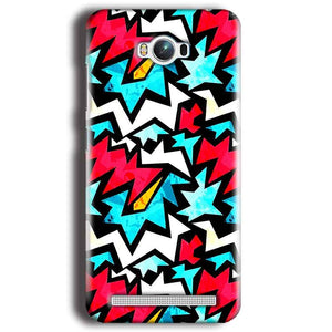 Asus Zenfone Max Mobile Covers Cases Colored Design Pattern - Lowest Price - Paybydaddy.com