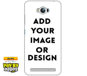 Pic on Cover / Photo Back Cover / Customized Mobile Covers For  Asus Zenfone Max