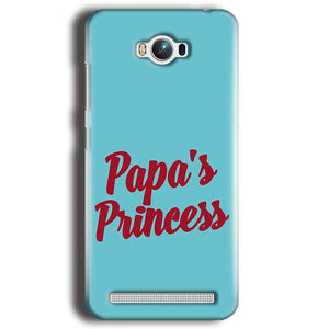 Asus Zenfone Max Mobile Covers Cases Papas Princess - Lowest Price - Paybydaddy.com