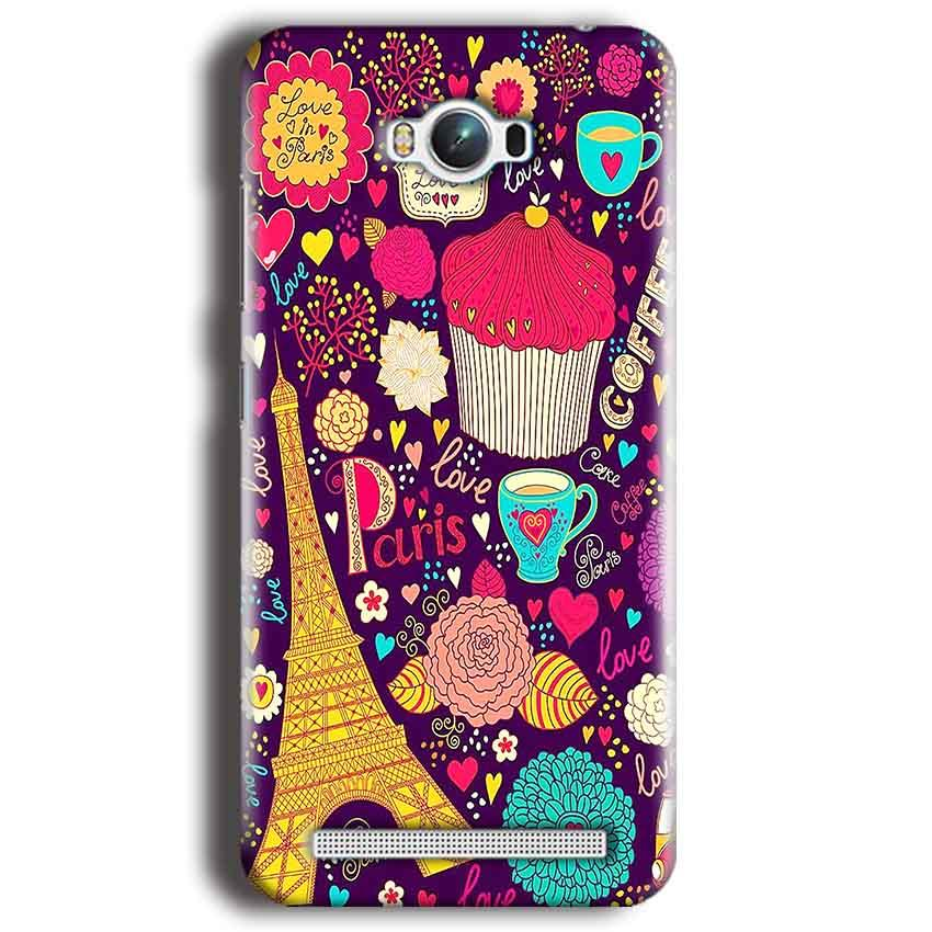 Asus Zenfone Max Mobile Covers Cases Paris Sweet love - Lowest Price - Paybydaddy.com