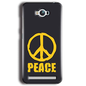 Asus Zenfone Max Mobile Covers Cases Peace Blue Yellow - Lowest Price - Paybydaddy.com