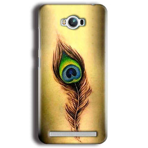 Asus Zenfone Max Mobile Covers Cases Peacock coloured art - Lowest Price - Paybydaddy.com