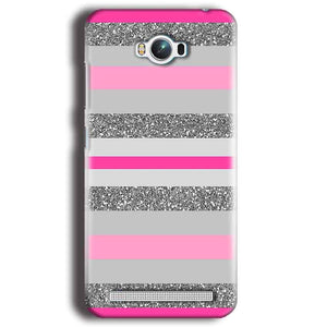 Asus Zenfone Max Mobile Covers Cases Pink colour pattern - Lowest Price - Paybydaddy.com