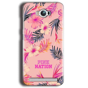 Asus Zenfone Max Mobile Covers Cases Pink nation - Lowest Price - Paybydaddy.com