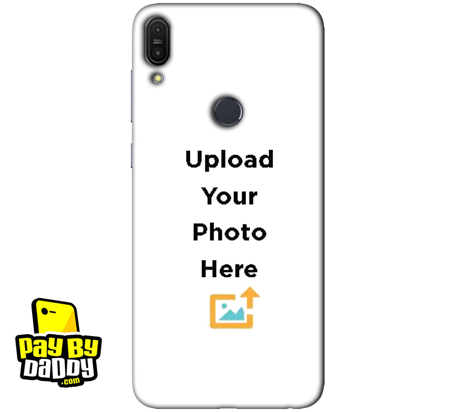 Customized Asus Zenfone Max Pro M1 Mobile Phone Covers & Back Covers with your Text & Photo