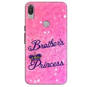 Asus Zenfone Max Pro M1 Mobile Covers Cases Brothers princess - Lowest Price - Paybydaddy.com