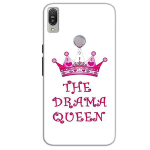 Asus Zenfone Max Pro M1 Mobile Covers Cases Drama Queen - Lowest Price - Paybydaddy.com