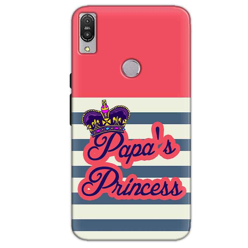 Asus Zenfone Max Pro M1 Mobile Covers Cases Papas Princess - Lowest Price - Paybydaddy.com