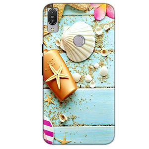Asus Zenfone Max Pro M1 Mobile Covers Cases Pearl Star Fish - Lowest Price - Paybydaddy.com
