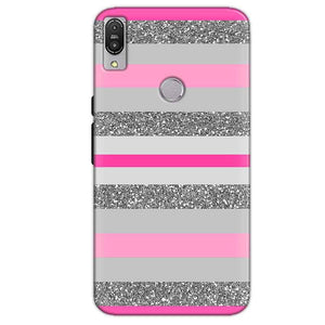 Asus Zenfone Max Pro M1 Mobile Covers Cases Pink colour pattern - Lowest Price - Paybydaddy.com