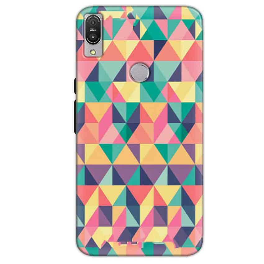 Asus Zenfone Max Pro M1 Mobile Covers Cases Prisma coloured design - Lowest Price - Paybydaddy.com