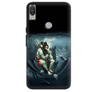 Asus Zenfone Max Pro M1 Mobile Covers Cases Shiva Smoking - Lowest Price - Paybydaddy.com