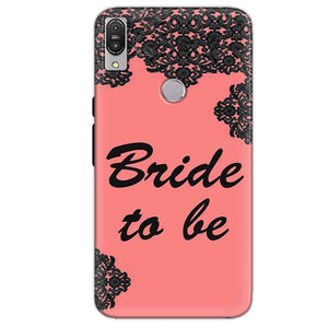 Asus Zenfone Max Pro M1 Mobile Covers Cases Mobile Covers Cases bride to be with ring Black Pink - Lowest Price - Paybydaddy.com