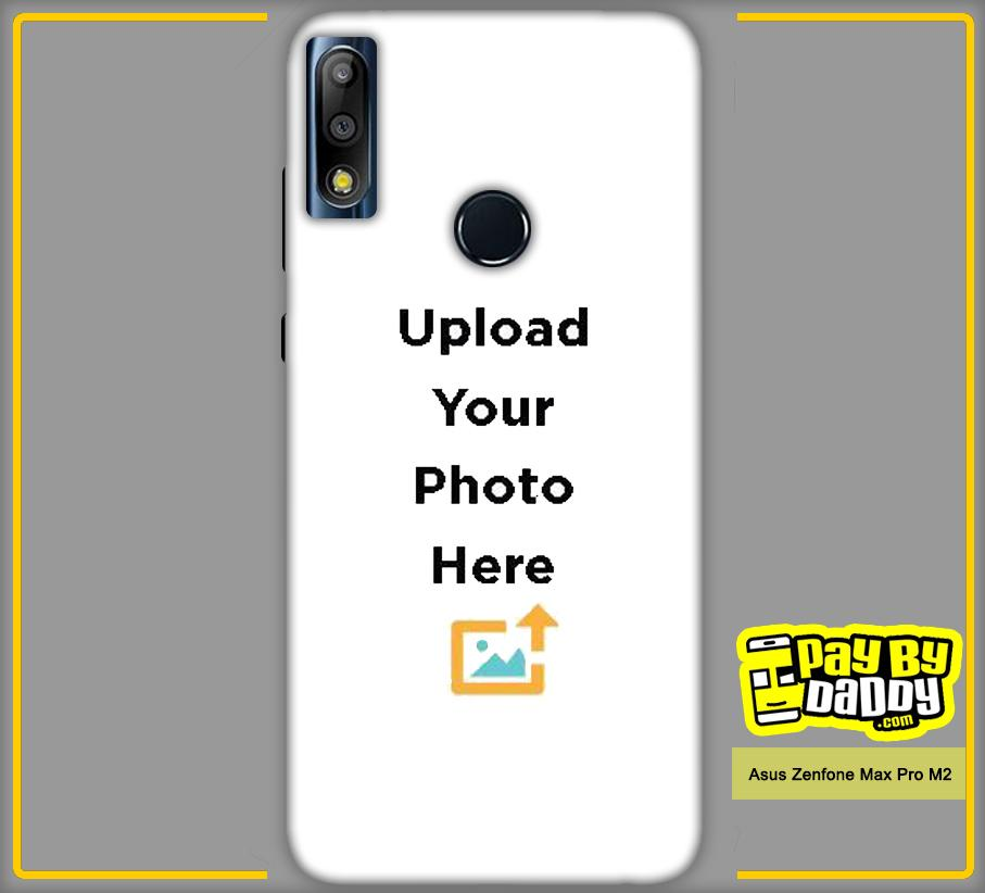 Customized Asus Zenfone Max Pro M2 Mobile Phone Covers & Back Covers with your Text & Photo