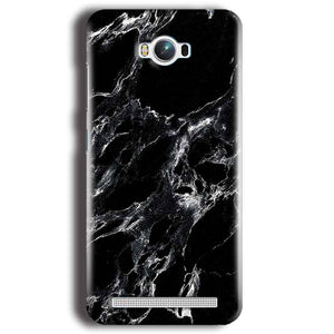 Asus Zenfone Max Mobile Covers Cases Pure Black Marble Texture - Lowest Price - Paybydaddy.com