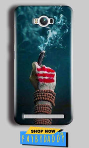 Asus Zenfone Max Mobile Covers Cases Shiva Hand With Clilam - Lowest Price - Paybydaddy.com