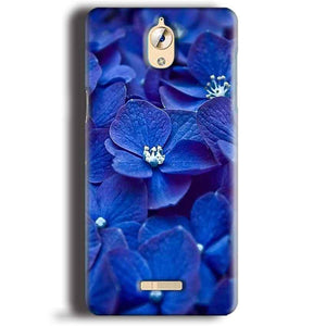 CoolPad Mega 3 Mobile Covers Cases Blue flower - Lowest Price - Paybydaddy.com