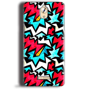 CoolPad Mega 3 Mobile Covers Cases Colored Design Pattern - Lowest Price - Paybydaddy.com