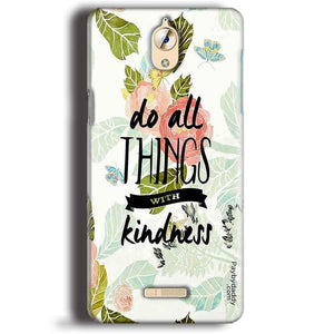 CoolPad Mega 3 Mobile Covers Cases Do all things with kindness - Lowest Price - Paybydaddy.com