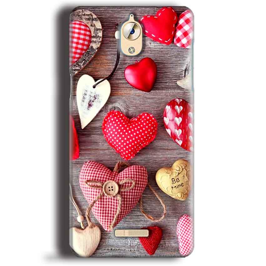 CoolPad Mega 3 Mobile Covers Cases Hearts- Lowest Price - Paybydaddy.com