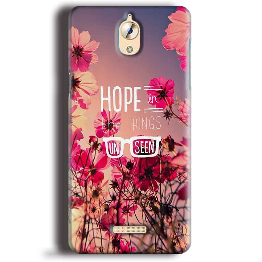 CoolPad Mega 3 Mobile Covers Cases Hope in the Things Unseen- Lowest Price - Paybydaddy.com