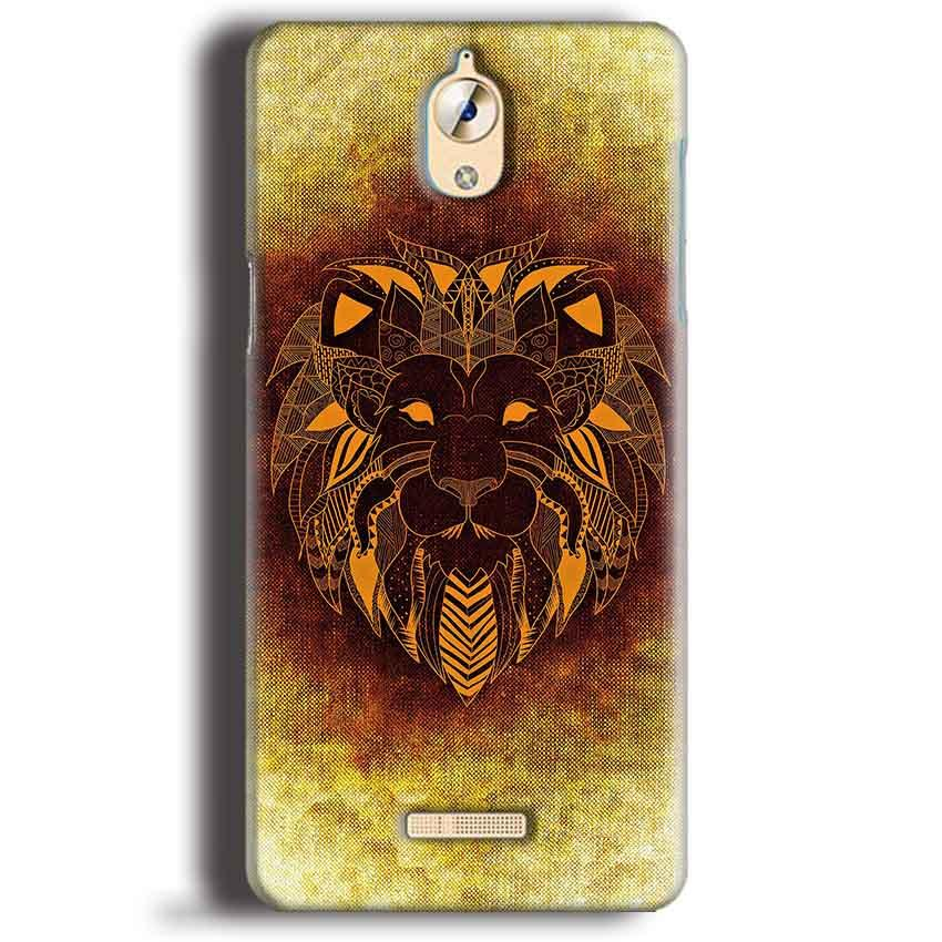 CoolPad Mega 3 Mobile Covers Cases Lion face art - Lowest Price - Paybydaddy.com