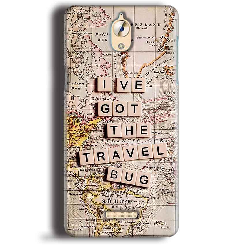 CoolPad Mega 3 Mobile Covers Cases Live Travel Bug - Lowest Price - Paybydaddy.com